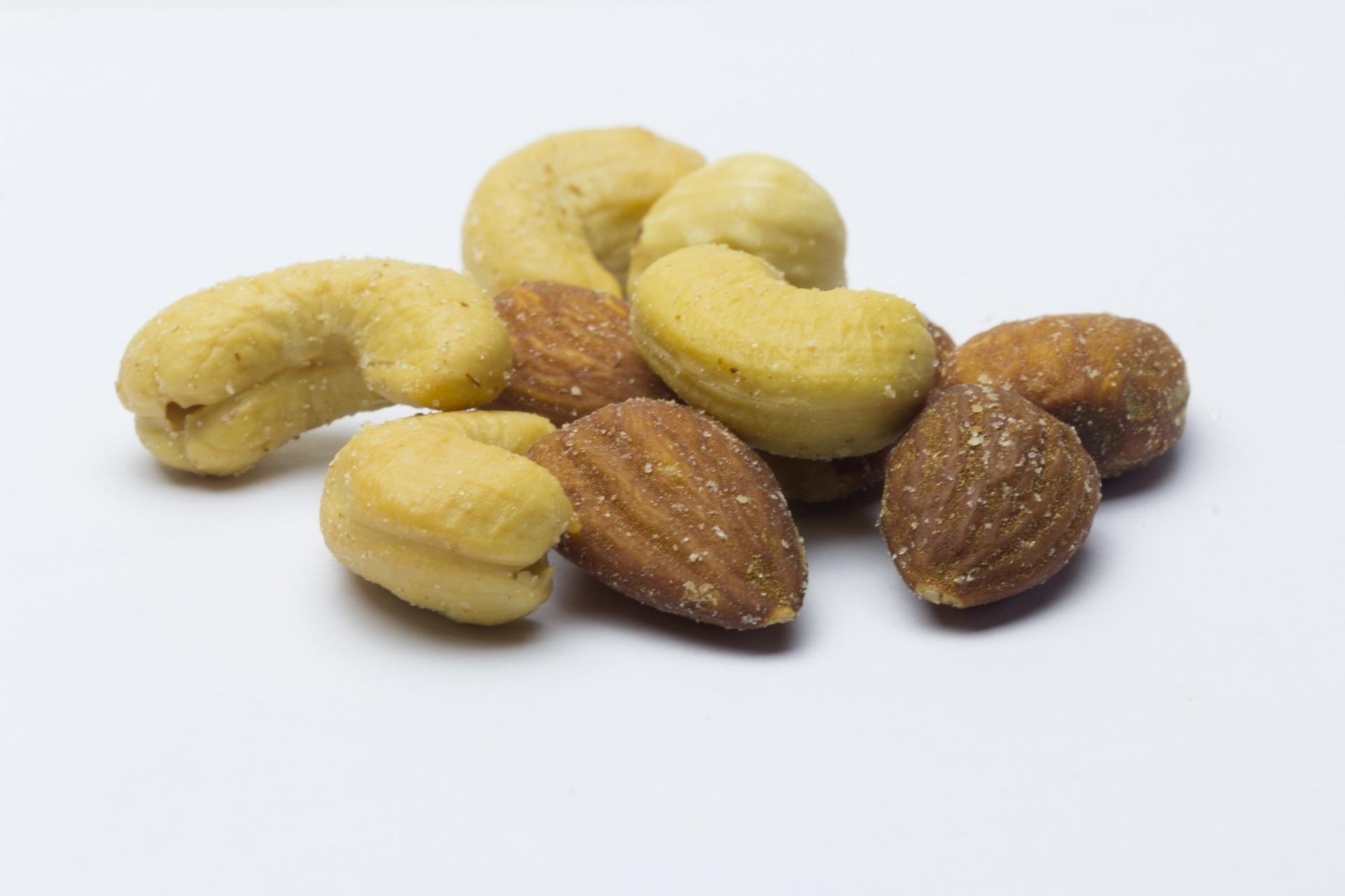 Bild: Veganer Rahm - Cashews und Mandeln