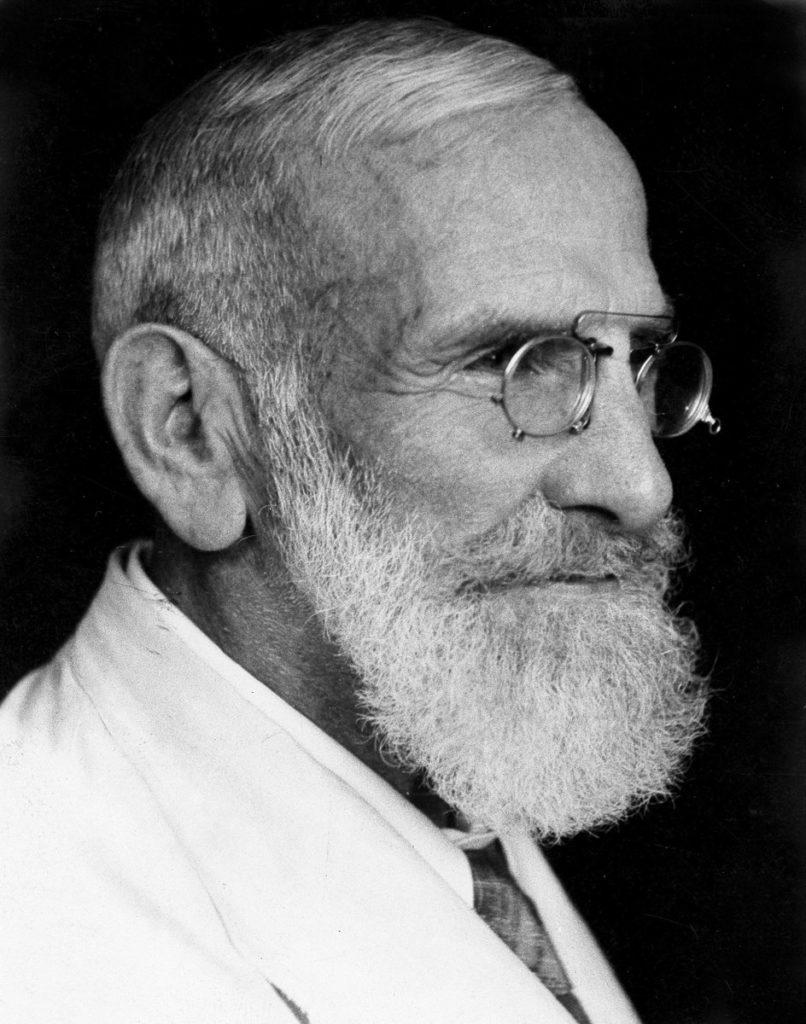 Bild: Gesundes Birchermüesli - Portrait Dr. Bircher-Benner