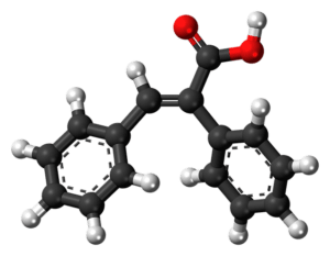 Bild: Chemischer Aufbau ungesättigten Fettsäuren