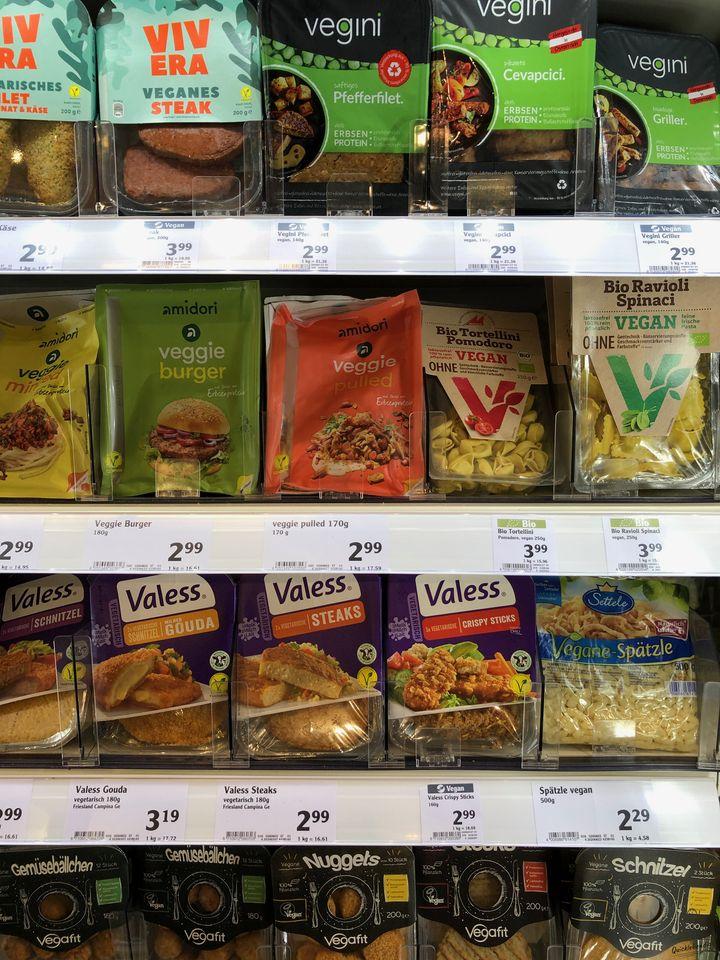 Bild: Pflanzliches, denaturiertes Eiweiss, Tofuburger, Eiweissmast