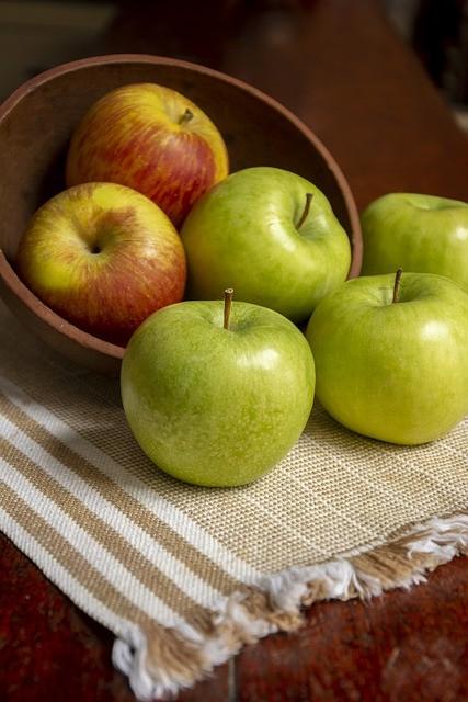 Bild: Natürlicher Zucker - Äpfel