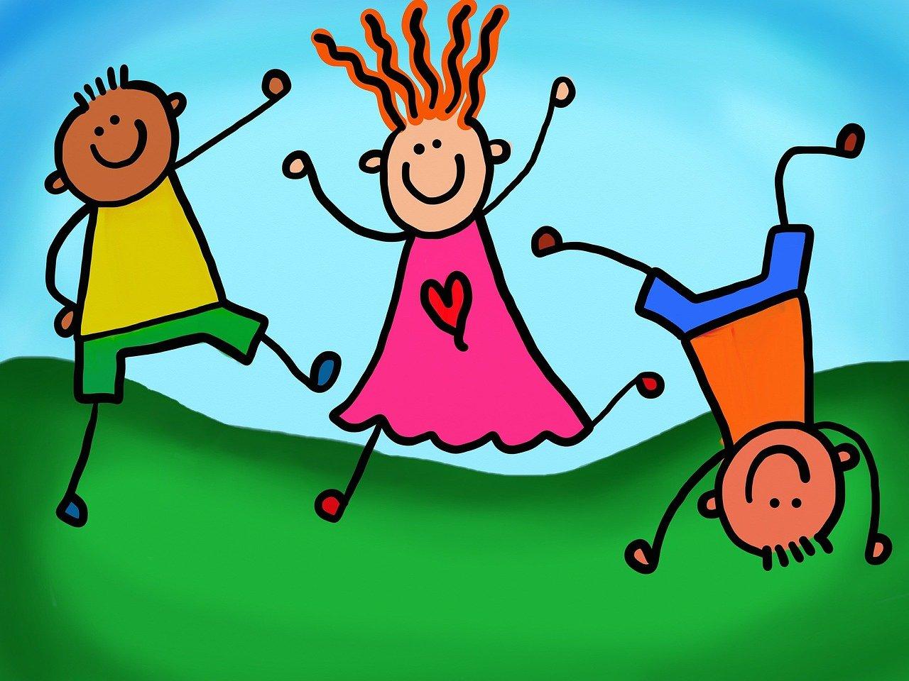 Bild: Spielende Kinder